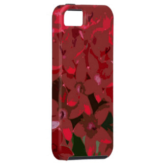 Red Flowers iPhone SE/5/5s Case