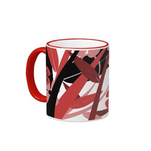 Red Flowers Mug zazzle_mug