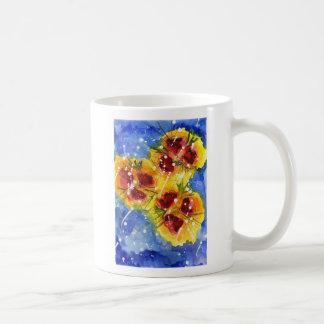 Red Flowers ~ Mug