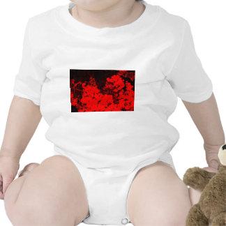 Red Flowers Pop Art T Shirts
