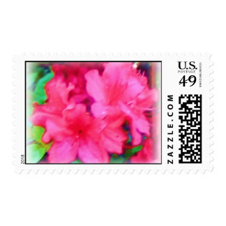 Red Flowers Postage