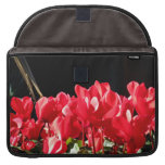 Red Flowers Sleeves For MacBook Pro