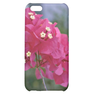 Red Flowers With Flower Stamens flowers iPhone 5C Case