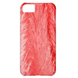 Red Fluff iPhone 5C Cover