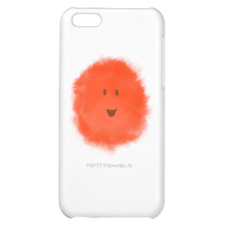 Red Fluffy Critter iPhone 5C Case