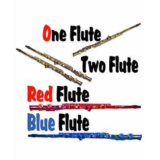 Red Flute Blue Flute shirt
