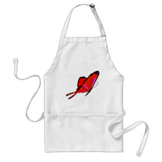 Red Flutters Aprons