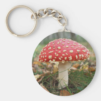 Red Fly Agaric Keychain