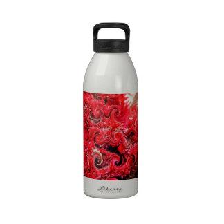 Red Foam Design Drinking Bottle