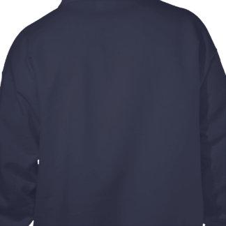 Red Fog Biohazard Symbol Hoodie (backprint)