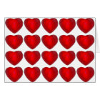 Red Foil Chocolate Hearts Valentine's Day Love Card