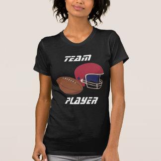 Red Football Helmet n Ball T-Shirt