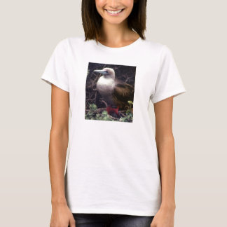 Red-Footed Exotic Bird T-Shirt