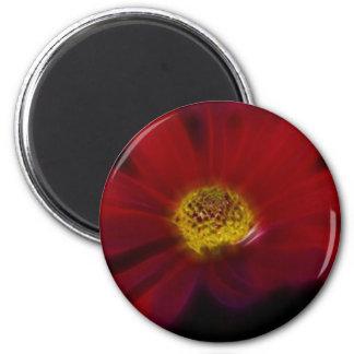 Red For Beauty Fridge Magnet
