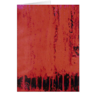 RED FOREST #1 GREETING CARD