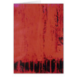 RED FOREST #1 GREETING CARDS