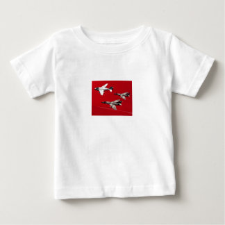 Red Formation Flight Baby T-Shirt