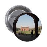 Red Fort in Delhi Pinback Button