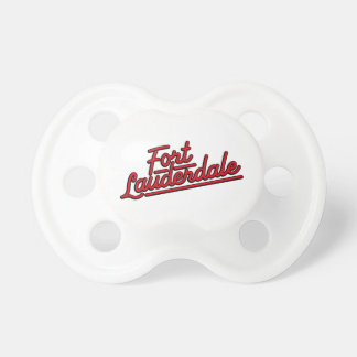 red Fort Lauderdale Baby Pacifiers
