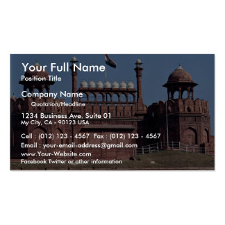 Red Fort, New Delhi, India Business Cards