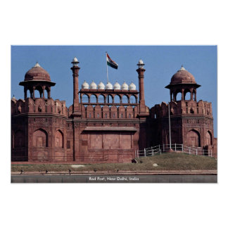 Red Fort, New Delhi, India Poster