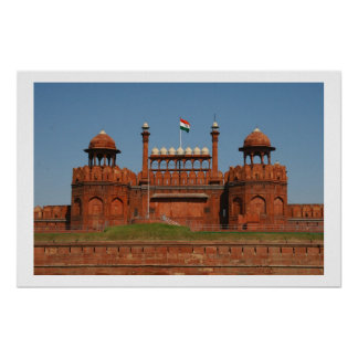 red fort poster