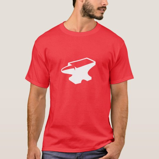 Red Foundry Anvil Tee (Red)