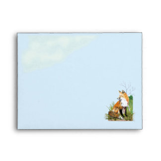 Red Fox A2 Envelope