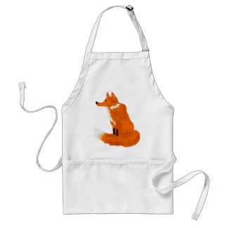 Red Fox Adult Apron