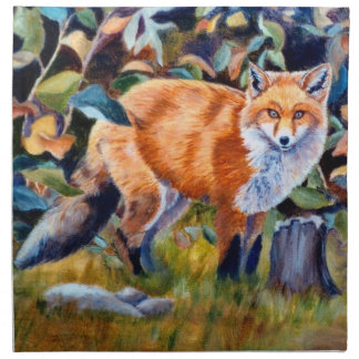 Red Fox American MoJo Napkins