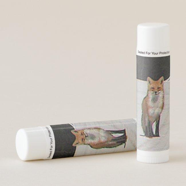 Red Fox Animal Lip Balm