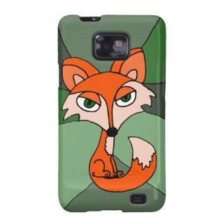 Red Fox Art Samsung Galaxy S2 Cover