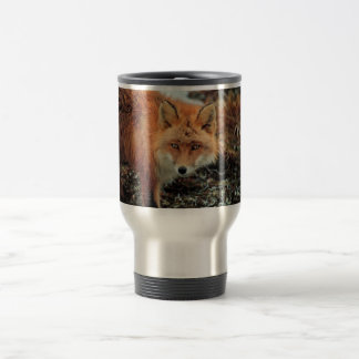 Red Fox at Cape Newenham Travel Mug