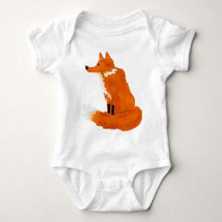 Red Fox Baby Bodysuit