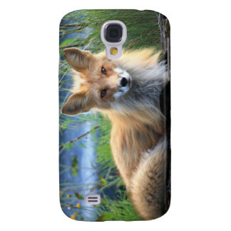 Red fox beautiful photo portrait, gift galaxy s4 case