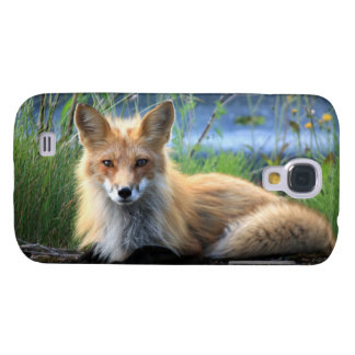 Red fox beautiful photo portrait, gift samsung galaxy s4 cover