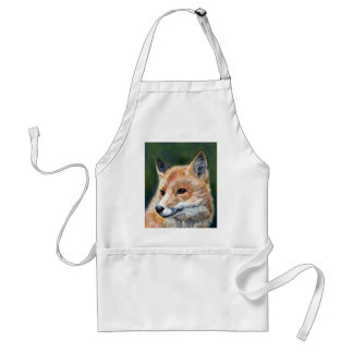 Red Fox by Sharon Coyle Apron