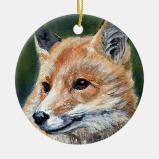 Red Fox by Sharon Coyle Ornament