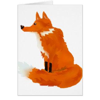 Red Fox Card