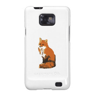 Red Fox Galaxy SII Cover