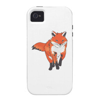RED FOX VIBE iPhone 4 CASES
