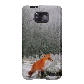 Red Fox Case-Mate Case Samsung Galaxy SII Covers