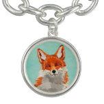 Red Fox Charm Bracelet