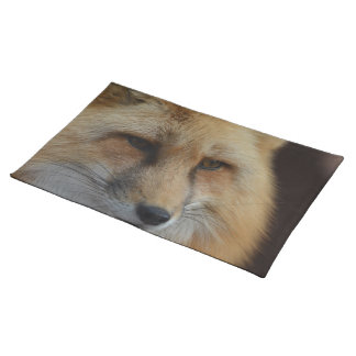 Red Fox Cloth Place Mat
