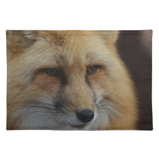 Red Fox Cloth Placemat