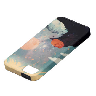Red Fox Dreaming iPhone SE/5/5s Case