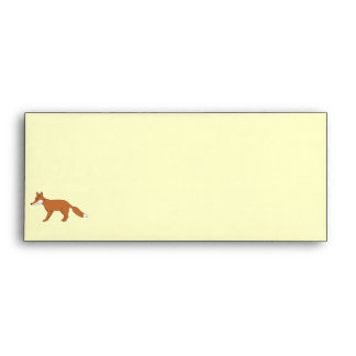 Red Fox. Envelope