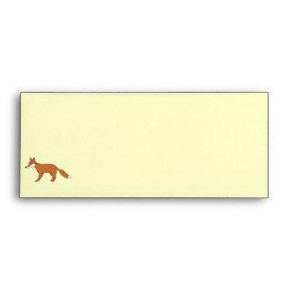 Red Fox. Envelopes