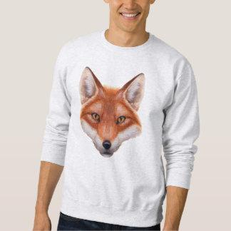 Red Fox Face Sweatshirt