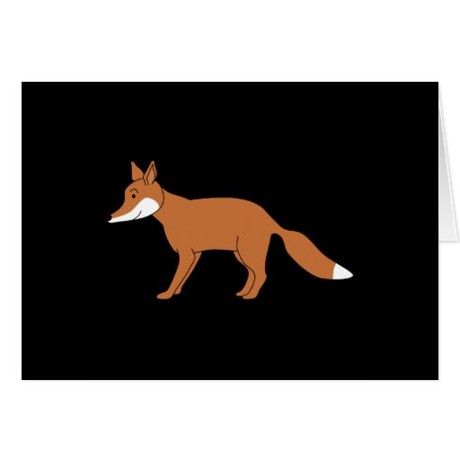 Red Fox. Greeting Card